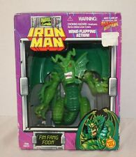 Vtg Marvel Comics Iron Man Dragons Fin Fang Foom Action Figure NIB New Sealed