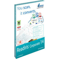 ReadIRIS Corporate 14 for PC -- OCR Document Management software