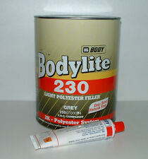 HB Body Lightweight Car Body Filler 3.5lt With Easy Sand Polyester - HB230/7