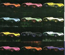 Formula 1 Car W 196 R (1954) by Andy Warhol Art Print Pop Car Poster 34.5x39.5