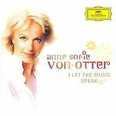 Anne Sofie Otter : I Let the Music Speak - A Tribute to Abba CD (2010)