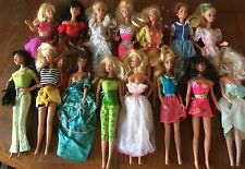 Vintage Barbie Dolls lot of 36 they are from 60's 70's 80's please see pictures