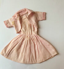 vintage clone Barbie type DRESS + JACKET - vintage dolls clothes P&P discounts