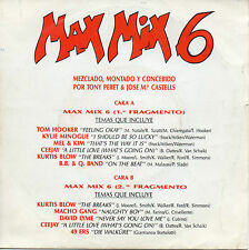 "KYLIE MINOGUE / DAVID LYME ""MAX MIX 6"" RARE SPANISH 7"" VINYL - PERET & CASTELLS"