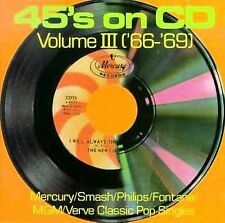 45's on CD, Volume 3 ('66-'69) by Various Artists, Jay & The Techniques, Eric B