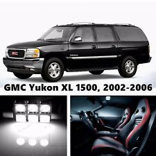 14pcs LED Xenon White Light Interior Package Kit for GMC Yukon XL 1500, -2006