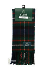 PURE NEW WOOL SCOTTISH TARTAN CLAN SCARF - FERGUSON