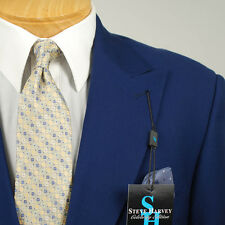 48L STEVE HARVEY Royal Blue Suit - 48 Long Mens Suits - SB02