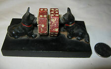 ANTIQUE HUBLEY USA PROHIBITION ERA BEER BAR TAVERN CAST IRON DOG DICE TOY GAME