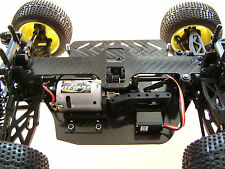 HD carbon chasis set para Kyosho mini serie Inferno