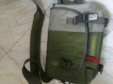 Timbuk2 classic messenger bag SMALL green & gray
