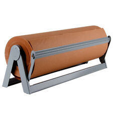 "18"" Paper Cutter / Dispenser for Butcher, Gift Wrap and Kraft Roll Paper"
