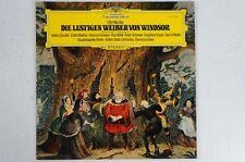 Nicolai Die Lustigen Weiber von Windsor Querschnitt Donath Mathis Schreier(LP31)