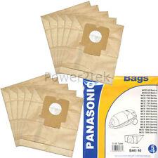 10 X C2E Bolsas de Polvo para Aspiradora Panasonic MCE753 MCE754 MCE76