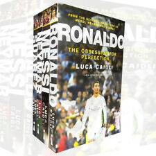 Football Icons around the world Collection By Luca Caioli 4 Books Set Messi,New