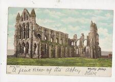 Whitby Abbey 1903 Postcard 530a
