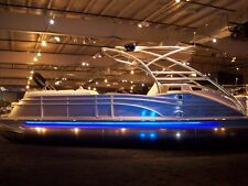 BLUE - - LED Boat Light Kit - - UNIVERSAL fit any boat - - pONTOON LIGHTS
