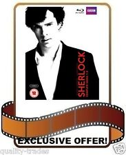 ❏ Sherlock Series 1 - 3 Blu Ray Complete Trilogy Collection BBC Seasons ❏ 1 2 3