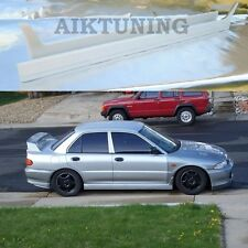 Mitsubishi EVO 3 Evolution III side skirt set, side skirts apron valance addons