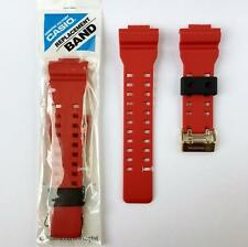 ORIGINAL CASIO G-SHOCK REPLACEMENT BAND STRAP, GD100RF-4 GD-100RF-4, CRIMSON RED
