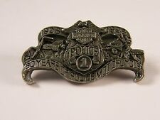 HARLEY DAVIDSON MOTORCYCLES 1908-1998 90 YEARS OF POLICE MOTORCYCLES PIN