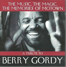 A Tribute to Berry Gordy MARVIN GAYE SHANICE DIANA ROSS JACKIE WILSON  MOTOWN CD