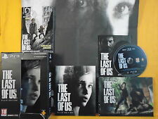 Ps3 last of us the limited ellie edition * x action survival game Playstation pal