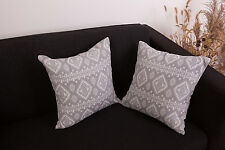 Set of 2 Vintage Luxury Decorative Throw Pillow Case Cushion Cover Sofa Couch