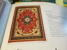 Cross Stitch & Needlework Magazine Jan/Feb 2000-Dollhouse Oriental Rug &
