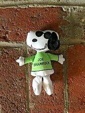 RARE! Vintage Snoopy Joe Shamrock Plush Doll Great Condition!