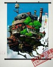 Home Decor Poster Wall Scroll 60*80CM Cosplay Anime Howl's Moving Castle