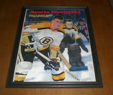 BRUINS BOBBY ORR FRAMED 1967 SPORTS ILLUSTRATED PRINT