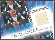 Complete Star Trek Movies Costume Card MC5 Cmdr. Montgomery Scott