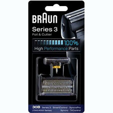 BRAUN 30B 7000/4000 Series Mens Shaver Foil + Cutter Set Head Replacement