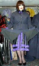 rare heavy rubber lined mackintosh raincoat hamilton & hood & belt 50 chest TV