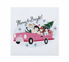 Talking Tables Christmas At Our House 25cm Small Paper Party Napkins, Pack of 20