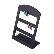 24 Holes Plastic Earring Show Display Rack Countertop Stand Organizer Holder NR