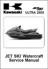 Kawasaki Ultra 250X Jet Ski Service Repair Manual CD - JetSki Ultra250 X 250