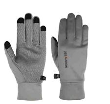 MOUNT TEC - Men's Lightweight Commuter Gloves, Medium - Gray