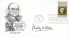 BILLY WILDER hand signed autographed 1970 FDC cover - filmmakers