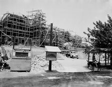 Vintage KNOTTS BERRY FARM CONSTRUCTION PHOTO, Calico Mine Ride Being Built