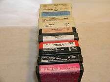 8 track recorded tapes from 60's Pop & Western Huge Collection of 46 (forty six