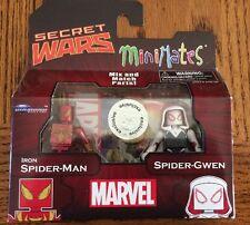 Marvel Minimates! New Iron Spider-Man & Spider-Gwen! Toys R Us Exclusive!