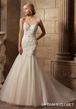 Spaghetti Strap Princess Wedding Dress, Reg $329.00 Sale $279.00
