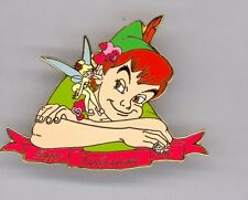DA Disney Auctions Peter Pan & Tinker Bell Happy Valentine's Day LE Pin