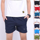 Fashion Men Basic Beach Short Pants Casual Sport Shorts Surf Running Trousers