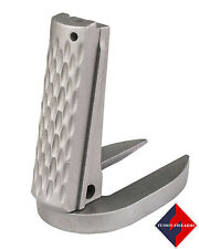 1911 Mag-Well Mainspring Housing Gov Chain Link Stainless Matte