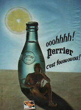 Publicité Advertising  PERRIER