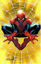 "ED McGUINNESS AMAZING SPIDER-MAN GOLD WEB SDCC 2016 ART PRINT 11""x17"""