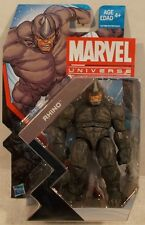 "Marvel Universe 3.75"" Series 5 #003 Rhino Hasbro (Mint On Card) Spider-Man"